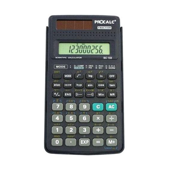 Calculadora Científica Procalc Sc133 Escritório Total