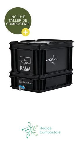 Compostera Rama Somos 20 Litros Con Canilla 1 Persona