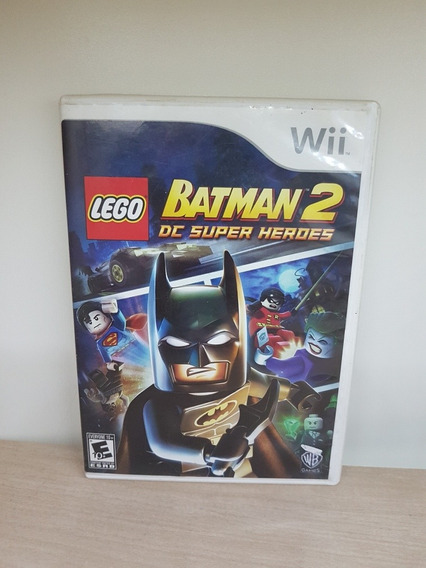Lego Batman 2 Dc Super Heroes Wii / Wii U - Completo