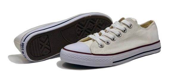 Zapatos Converse Casual Deportivo Blanco Juvenil Oferta!!