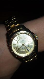 Oferta!! Reloj Mujer Atlantis! Dorado- Acero- Sumergible-