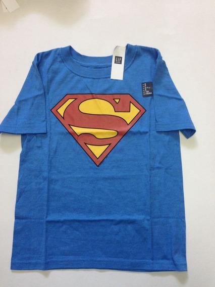 Superman Playera Gap Niño 100% Original Con Licencia