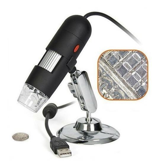 Microscópio Digital Usb Zoom 1000x 2.0mp Hd A Profissional