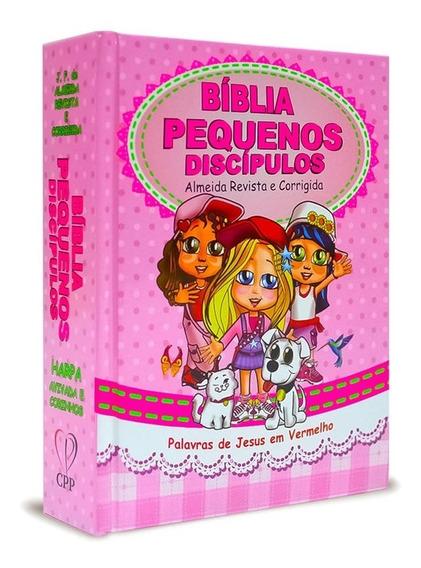 Bíblia Infantil - Pequenos Discípulos Com Harpa - Meninas