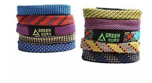 Green Guru Gear Climbing Rope Upcycled Made In Usa Pulsera,