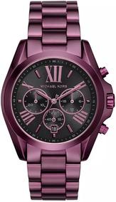 Relógio Michael Kors Feminino Bradshaw Cronógrafo Mk6398/4pn