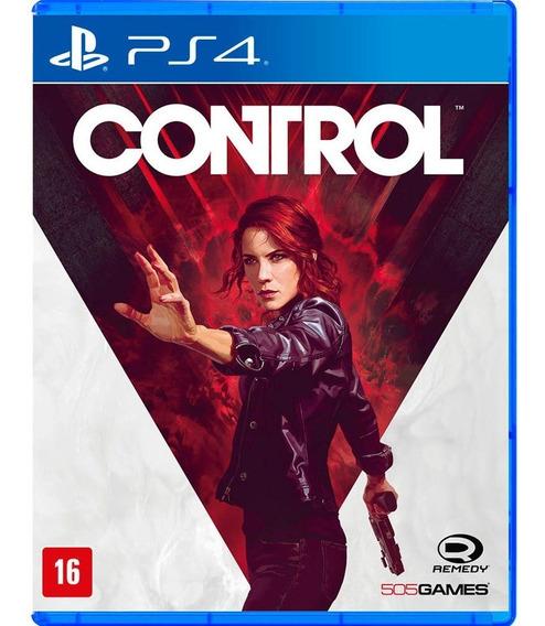 Jogo Novo Midia Fisica Control 505 Games Original Para Ps4