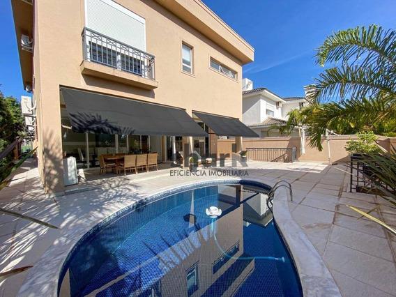 Casa Com 4 Dormitórios À Venda, 422 M² Por R$ 2.650.000,00 - Gênesis 1 - Santana De Parnaíba/sp - Ca0202