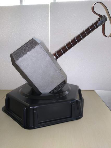 Replica Martillo Mjolnir Thor Avengers Escala 1:1 Con Base