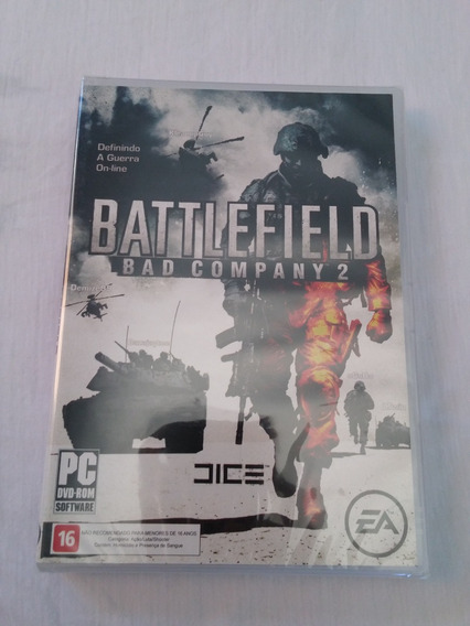 Game Jogo Battlefield Bf Bad Company 2 Pc Original Lacrado