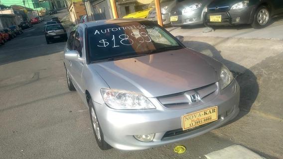 Honda Civic 1.7 Lx Aut. 4p 2004 $18500,00