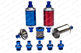 Filtro Combustível Lavável Tela Inox P/ Bomba Gti 12mm 1/2