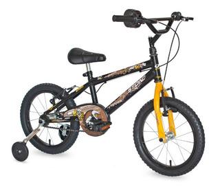 Bicicleta Aro 16 Infantil Masculina Hot Jr