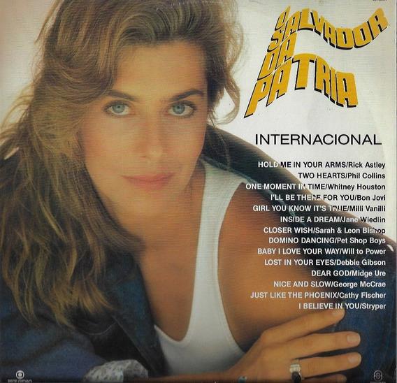 Disco De Vinil Lp Novela 1989 O Salvador Da Pátria Som Livre