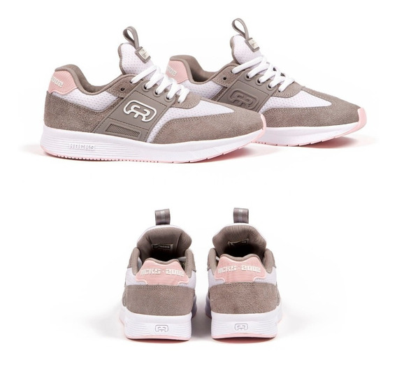 Tênis Hocks 2002 Grey/rosa