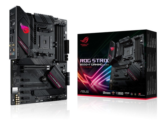 Motherboard Gamer Asus Rog Strix B550-f Gaming Ryzen Wifi