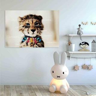 Cuadro Decorativo Moderno Infantil 120x80cm Canvas Nativo