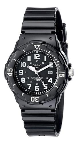 Reloj Casio Sumergible 100 Mts. Lrw 200h De Dama B