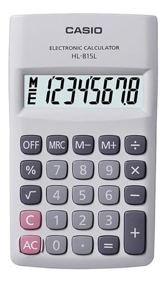Calculadora Bolsillo Casio Hl-815l Garantia Oficial 2 Años