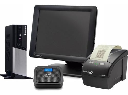 Imagem 1 de 5 de Pdv Bematech Sat Go + Mp4200 + Monitor Touch + Cpu Rc-8400