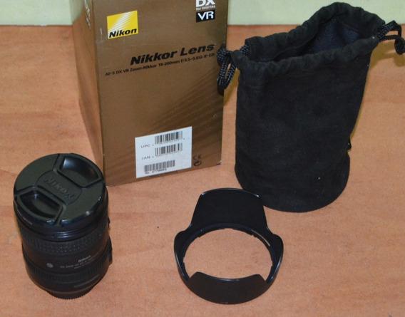 Remato Lente Nikon 18-200mm Dx F/3.5-5.6gii Ed Vr