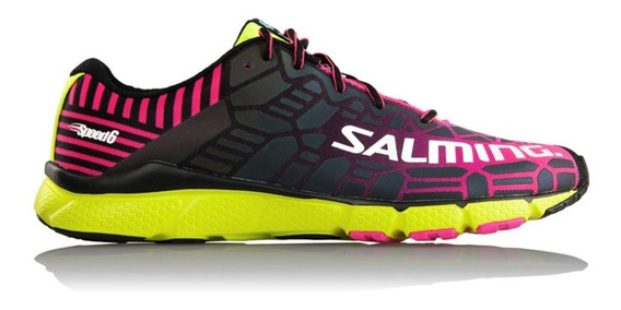 Zapatillas Salming Speed 6 W Rosa/negro - Corner Deportes