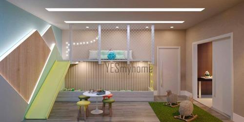 Apartamento Com 3 Dormitórios À Venda, 107 M² Por R$ 1.133.600,00 - Centro - Curitiba/pr - Ap3460