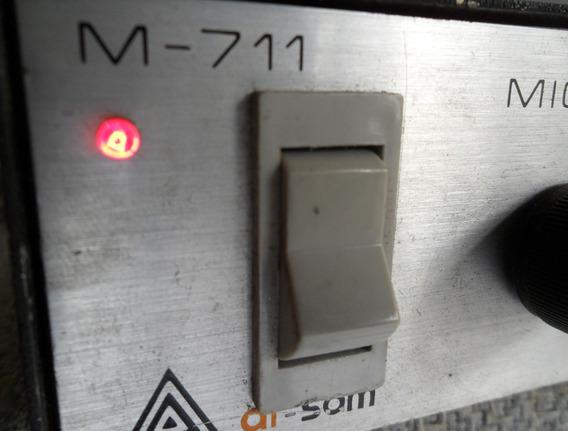 Antigo Amplificador Di-som M-711