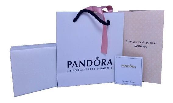Pandora Kit De Regalo Para Pulsera (bolsa,caja,paño,certif.)