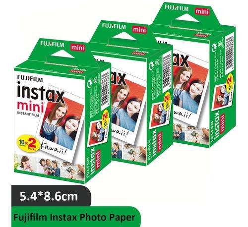 Imagen 1 de 5 de Papel Fotográfico De Fujifilm Instax Mini Iso 800, 60 Uds.