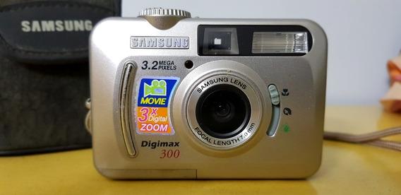 Câmera Fotográfica Digital Samsung Digimax 300