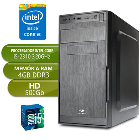 Computador Completo I5 2310 Ddr3 4gb Hd 500gb Desktop Pc Cpu