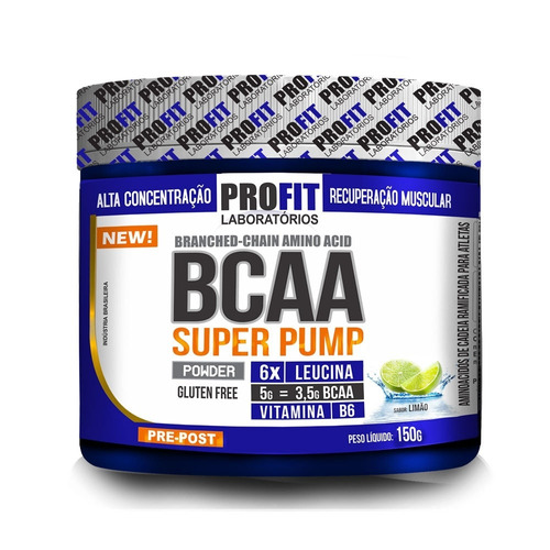 Bcaa Super Pump 150g Limao