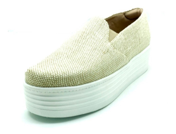 Sapatos Femininos Slipper Slip On Sola Alta Dani K