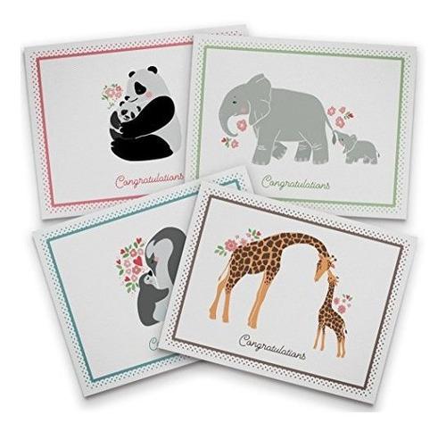 Imagen 1 de 2 de Tarjeta Para Babyshower Tarjeta Para Babyshowertwigs Paper