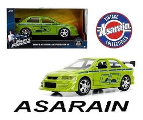 Brians Mitsubishi Lancer Velozes Furiosos Fast Furious 1/32