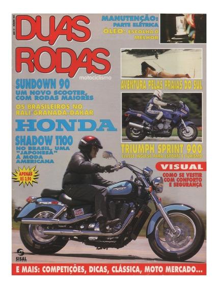 Duas Rodas N°245 Shadow 1100 Triumph Sprint 900 Sundown 90