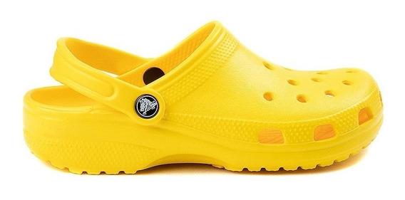 Crocs Classic Adulto Amarillas Envios A Todo Pais