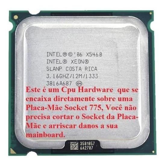 Processador Intel Xeon X5460 3.16 Ghz + Cooler + Brindes