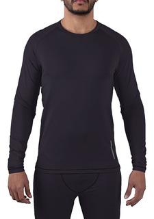 Camiseta Andes Hombre Abrigo Térmica Montagne Invierno Esqui