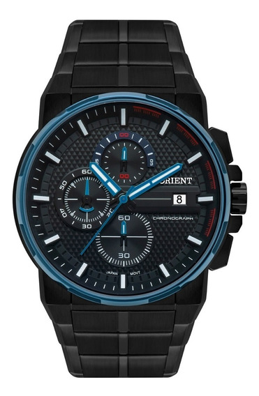 Relógio Orient Masculino Cronógrafo Mpssc017 P1px Preto