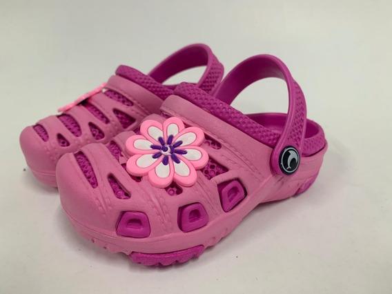 Babuche Crocs Infantil Unissex Em Eva Disponível Em Cores