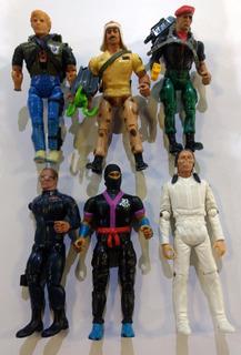 Retromex V Lote G. I. Joe Kenner Vintage Figuras