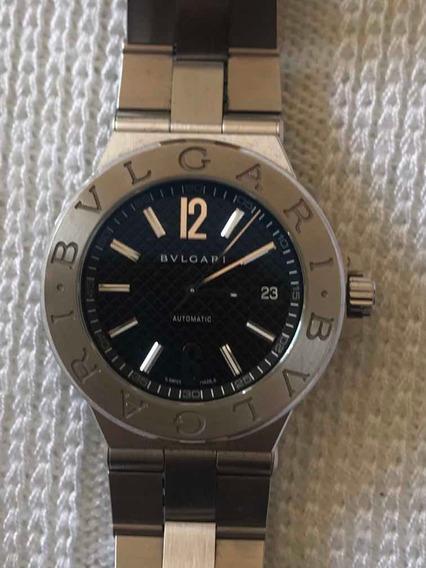 Relógio Bvlgari Diagono Dg40s - Usado 2 Vezes - Conservado