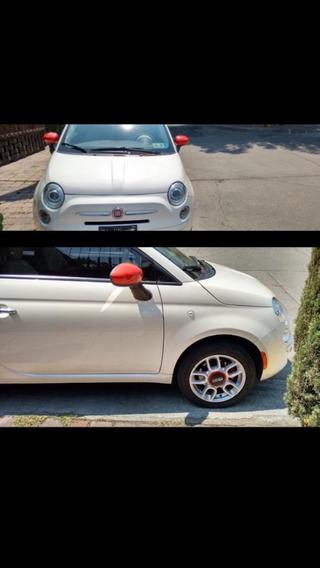 Fiat 500 2014 Versión Pop Automático, Único Dueño, Eléctrico