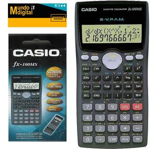 Casio Fx100ms Calculadora Científica 300 Funciones