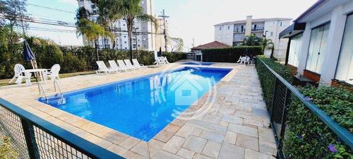 Apartamento Com 2 Dormitórios À Venda, 63 M² Por R$ 265.000,00 - Gleba Califórnia - Piracicaba/sp - Ap0780