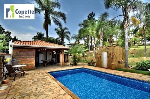Maravilhosa Chácara 1800 M² Com 3 Dormitórios À Venda - Santa Clara - Jundiaí/sp - Ch0117