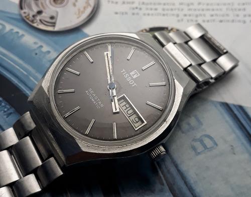 Relógio Tissot Automático Mostrador Cinza