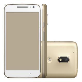 Motorola Moto G4 Play Xt1603 16gb Ram 2gb Dourado Vitrine 1